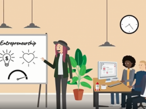 Paper by Svetlana N. Khapova on entrepreneurial passion diversity summarized in a video