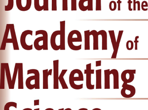 Paper by Francesca Sotgiu in the Journal of the Academy of Marketing Science